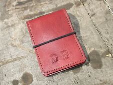 Personalized Leather Notebook  book Cover Hand Made. Notepad