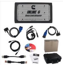INLINE 6 Data Link Adapter for Cummins RP1210 Heavy Duty Diagnostic Full #Q05 ZX