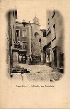 CPA  Crest (Drome) - L'Escalier des Cordeliers     (350411)