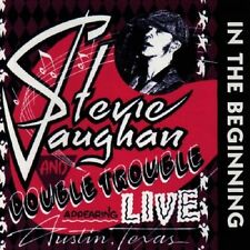 Stevie Ray Vaughan/Double Trouble In The Beginning Live Texas 1980 CD NEW Blues