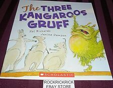 THE THREE KANGAROOS GRUFF (KEL RICHARDS) PAPERBACK BOOK (2011) BRAND NEW