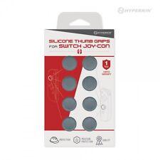 Hyperkin Nintendo Switch Joy-Con Silicone Thumb Grips - Neo Gray