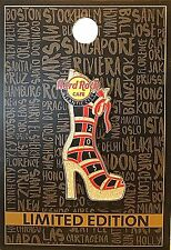 HRC Hard Rock Cafe AC Atlantic City 2015 Show Us Your Shoes Pin LE NEW # 86246