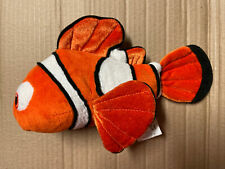 Disney Store Marlin Finding Nemo Baby Stuffed Plush Stamped Clown Fish Rare