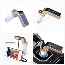 G7 Bluetooth USB Car Charger & AUX Kit Handsfree FM Transmitter Radio MP3 Player