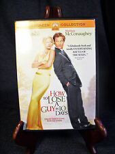 Chick Flick MovieNight Lot of 2 DVDs What Women Want/How to Lose a Guy in 10Days