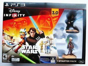 Disney Infinity STAR WARS Starter Pack NEW in Box for PS3 Anakin Ansoka Tano