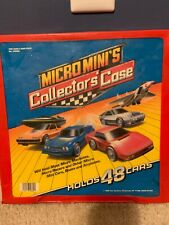 Vintage Micro Machines Micro Minis 48 Car Collector's Carrying Case/cars/etc