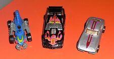 HOTWHEELS 3 car lot Mattel Vintage 1985 1979