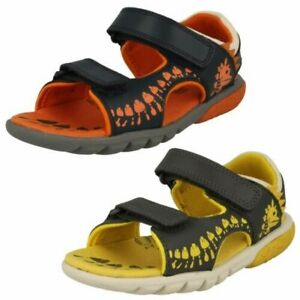 Clarks Boys Casual Sandals - Rocco Surf