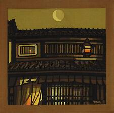 Furoshiki Clifton Karhu 'Moonlight Nishijin' Kyoto Cotton Japanese Fabric 90cm