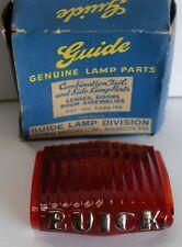 Tail Light Lens (Center) fits 1937 Buick Limousine Limo Original OE Part 920732