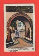 Marocco - Casablanca - Una Porta Da La Ville Nativi (K2952)