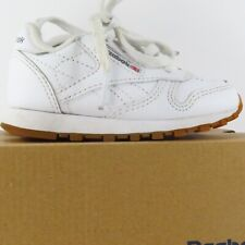Reebok Classic Leather (Toddler Size 4) Athletic Sneaker Shoes White