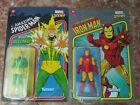 Marvel Legends 3.75 Retro Iron Man & Electro- NEW, SEALED **FLASH AUCTION** GO!!