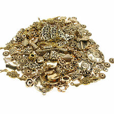 75g Gold Plated Mixed Spacer Beads - Connectors/Findings/Charms Jewellery Making