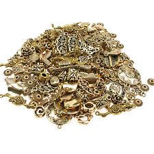75g chapado en oro mixto espaciador granos-connectors/findings/charms la fabricación de joyas