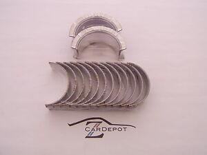 """Datsun 70-78 240Z 260Z 280Z Engine Crank Main Bearing Set .010"""" 078"""
