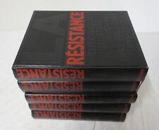 5 Volumes La Résistance chronique illustrée (1930 - 1950) livres clubs Diderot