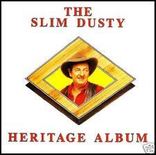 SLIM DUSTY - THE HERITAGE ALBUM CD ~ AUSTRALIAN COUNTRY / FOLK ~ 80's *NEW*