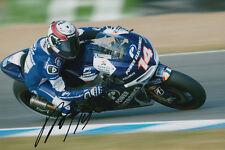 Randy De Puniet MotoGP Hand Signed Power Electronics Aspar ART Photo 12x8 2013 6