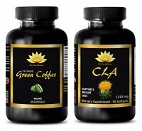 Antioxidant anti aging - CLA - GREEN COFFEE CLEANSE COMBO - cla in supplements
