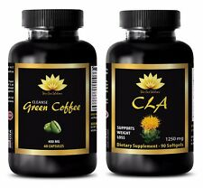 Antioxidant vitamin c - CLA - GREEN COFFEE CLEANSE COMBO - cla supplements