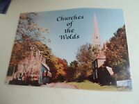 Churches of the Wolds by Christine R Barker 1982  Glossy Illustrated