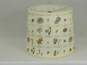 "Albert Estate LTD, Floral Print  Shade, 12"" Washer Fitter"