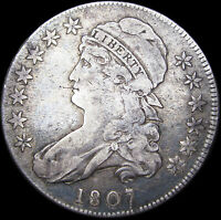 1807 Capped Bust Half Dollar Type Coin  --- Rare L@@K  --- #D514