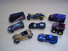 Lot of 8 Vintage Hot Wheels loose cars - 1990 to Present