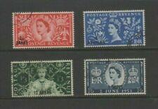 Muscat 1953 Coronation Used Set