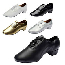 Brand New Adult Men's Ballroom Latin Tango Dance Shoes heeled 5 Color Hot Sell
