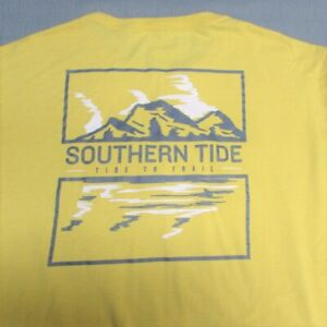 SOUTHERN TIDE SOFT COTTON LONG SLEEVE T SHIRT-XL-TIDE TO TRAIL-SPOTLESS QUALITY