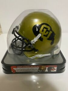 COLORADO BUFFALOES NCAA Schutt XP Authentic MINI Football Helmet