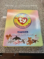 1990sTy Beanie Babies Club Official Collectors Binder ~300 Cards Series 2 and 3