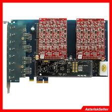 Asterisk card aex800 8 Port FXS FXO Card Echo Hardware,tdm800p FreePBX Issabel