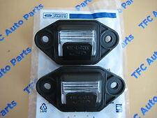 2 Ford E150 E250 E350 E450 Econoline Van Rear License Plate Light Lamp OEM New