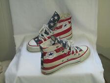 Vintage Converse American Flag Red White Blue Stars Stripes M 4.5/W 6.5 Usa Made