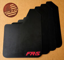 [SR] STARTER Mud Flaps Set BLACK w/ FR-S Vinyl Logo for Subaru BRZ / Scion FR-S