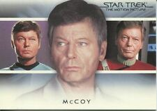 Star Trek Quotable Movies Bridge Crew Transition Chase Card T3 McCoy