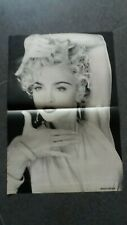 jon knight,new kids on the block   poster 2 pages  ou  madonna