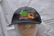 Vintage Quaker State Oil Racing Snapback Hat / Cap - FREE SHIPPING!!!