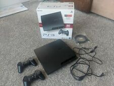 Sony Playstation 3 Slim 160GB Console CECH-3001A w/ Controllers and Box