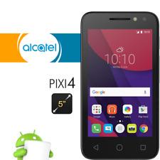 Alcatel Pixi 4 Smartphone débloqué 3G Ecran: 5 pouces - 8 Go  Noir/ Blanc