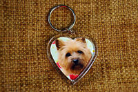 Cairn Terrier Keyring Dog Key Ring heart Birthday Gift Xmas Mothers Day Gift