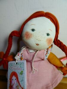Moulin Roty Les Rosalies Doll, New with tags. Very Pretty, Lovely Gift.