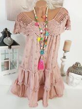 Kurze bestickte Damenkleider in Größe 38