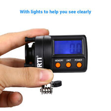 Professional Fishing Line Counter 999.9M Digital Display Adjust Fishing Line