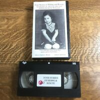 Four Stories of Hiding and Rescue Holocaust Ghetto Fighters' House Israel VHS